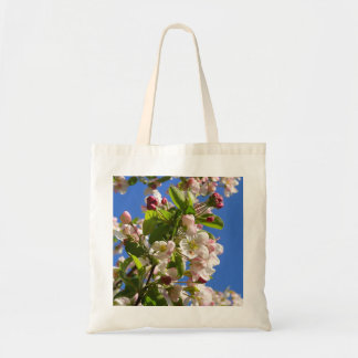 Wild Apple Tree blossoms Tote Bag