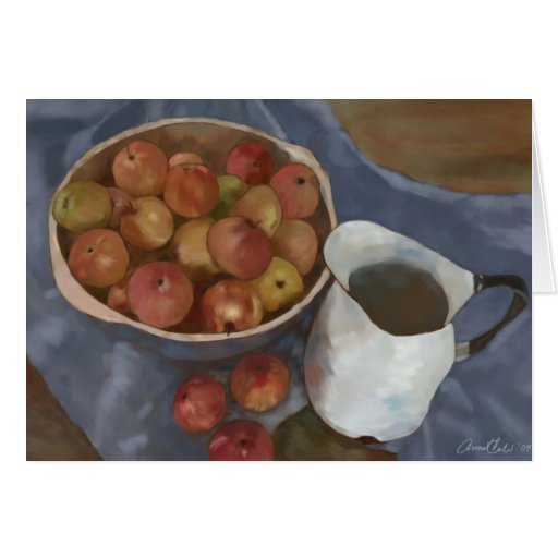 Wild Apples From the Secret Orchard Greeting Card