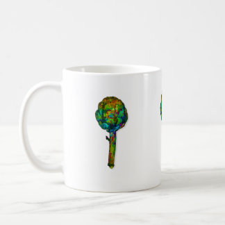wild artichoke coffee mug