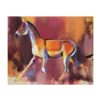 Wild Ass Rann of Kutch 1996 Canvas Print