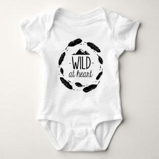 Wild At Heart Bohemian Kid Baby Shirt