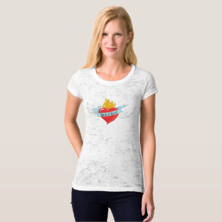 Wild At Heart Burn Out Tee