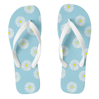 Wild at Heart Daisy Flip Flops