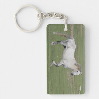 Wild at Heart Single-Sided Rectangular Acrylic Keychain