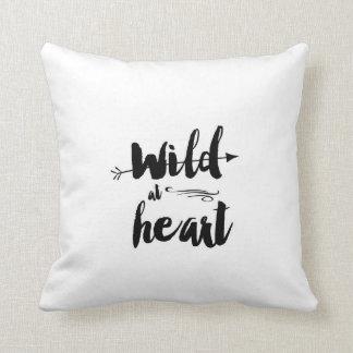 wild at heart pillow