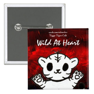 Wild At Heart Tiggy Buttons
