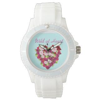 Wild At Heart Vintage Rose Watch