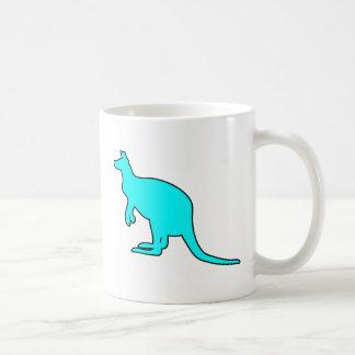 Wild Australian Kangaroo Marsupial Roo Silhouette Coffee Mug