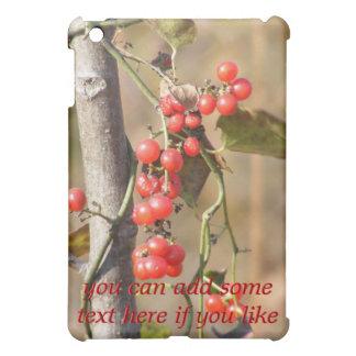 Wild Autumn Berries iPad Case