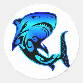 Wild Azz Shark #002 Classic Round Sticker