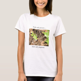 Wild Baby Bunnies-Take Only Pictures.... T-Shirt