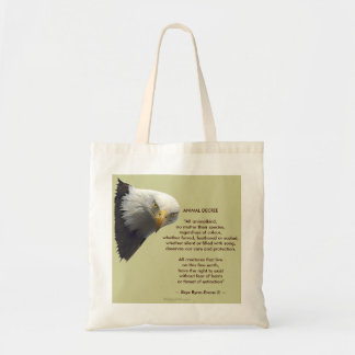Wild Bald Eagle Collection Tote Bag