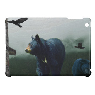 Wild Bear Animal-lovers Wildlife Gift iPad Mini Covers