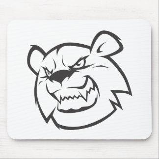 Wild Bear Mouse Pad