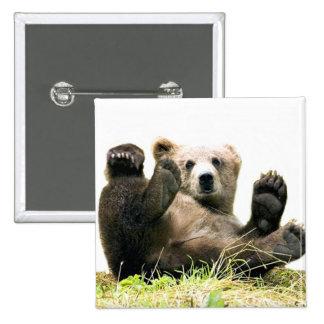 Wild Bears Pinback Button