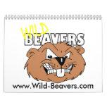 Wild-Beavers 2009 Calendar