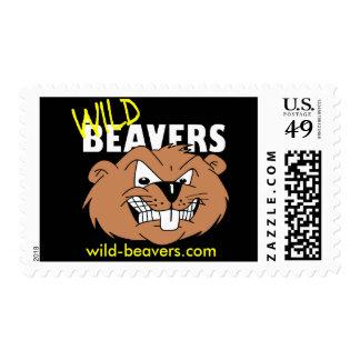 Wild-Beavers Stamps