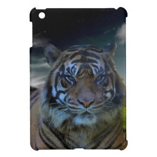 Wild Bengal Tiger Face Watercolor Beautiful iPad Mini Cases