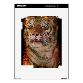 Wild Bengal Tiger Wildlife-lover Device Skin Decal For iPad 2
