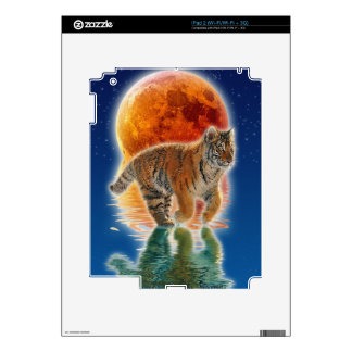 Wild Bengal Tiger Wildlife-lover Device Skin Decal For The iPad 2