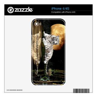 Wild Bengal Tiger Wildlife-lover Device Skin iPhone 4S Decals