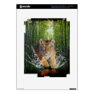 Wild Bengal Tiger Wildlife-lover Device Skin Skins For iPad 3