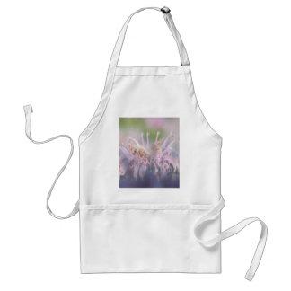 Wild bergamot beebalm flower adult apron