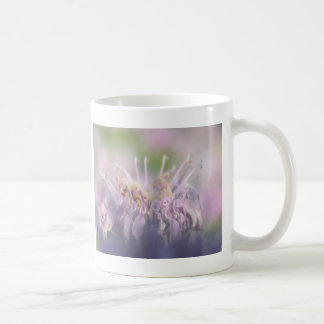 Wild bergamot beebalm flower classic white coffee mug