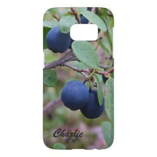Wild Berries custom monogram phone cases