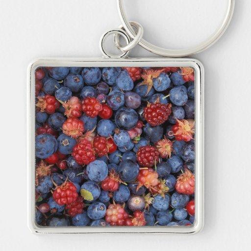 Wild Berries Keychains