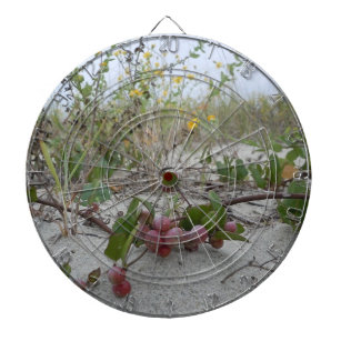 Wild Berries on the Beach Dartboard With Darts