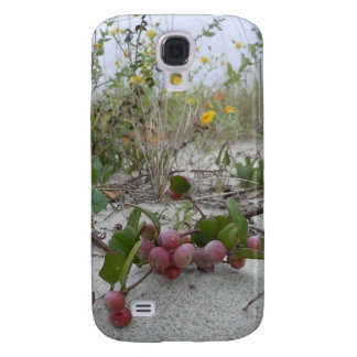 Wild Berries on the Beach Galaxy S4 Case