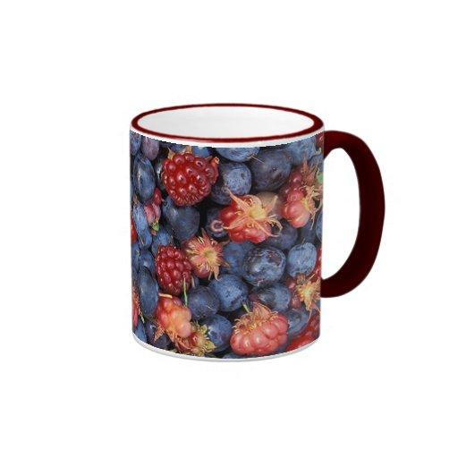 Wild Berries Ringer Mug