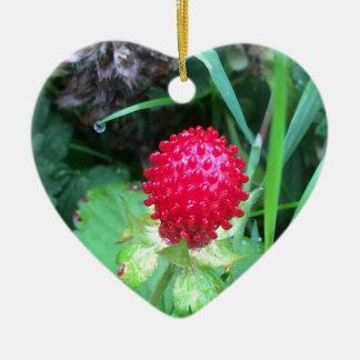 Wild Berry Ceramic Ornament