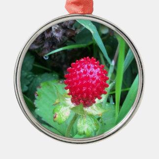 Wild Berry Metal Ornament