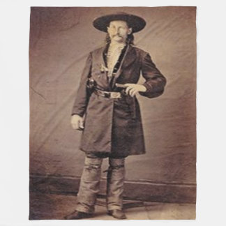 WILD BILL HICKOCK Fleece Blankets