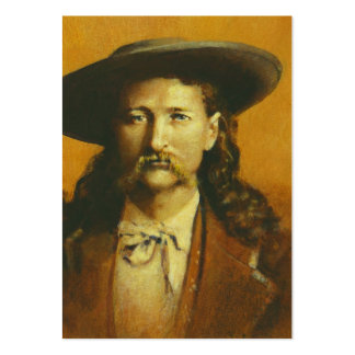 Wild Bill Hickok ACEO Business Card
