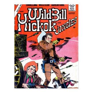 Wild Bill Hickok cómico Tarjetas Postales
