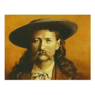 Wild Bill Hickok Illustration Post Cards