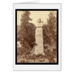 Wild Bill Hickok Monument SD 1891 Greeting Card