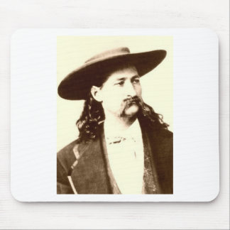WILD BILL HICKOK MOUSE PAD