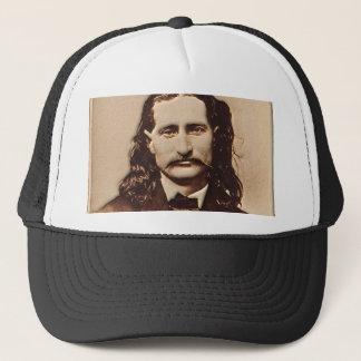 Wild Bill Hickok Painting Portrait Trucker Hat