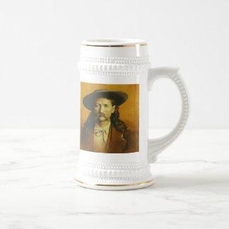 Wild Bill Hickok Stein 18 Oz Beer Stein