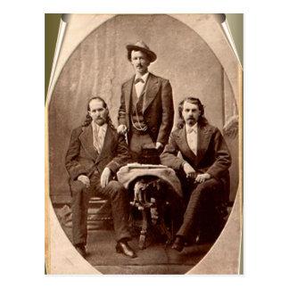 Wild Bill Hickok - Tejas Jack - Buffalo Bill Postal