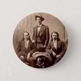 Wild Bill Hickok - Texas Jack - Buffalo Bill Button