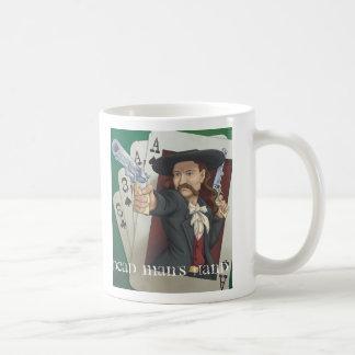 Wild Bill's Last Hand Classic White Coffee Mug