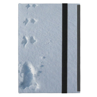 Wild Bird Footprints in Snow Cases For iPad Mini