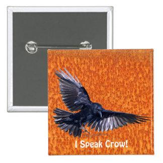 Wild Bird for Bird-lovers Pinback Button