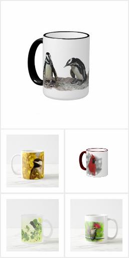 Wild Bird Mugs