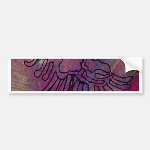 Wild Bird Ribbon Series CricketDiane Art & Design Bumper Sticker